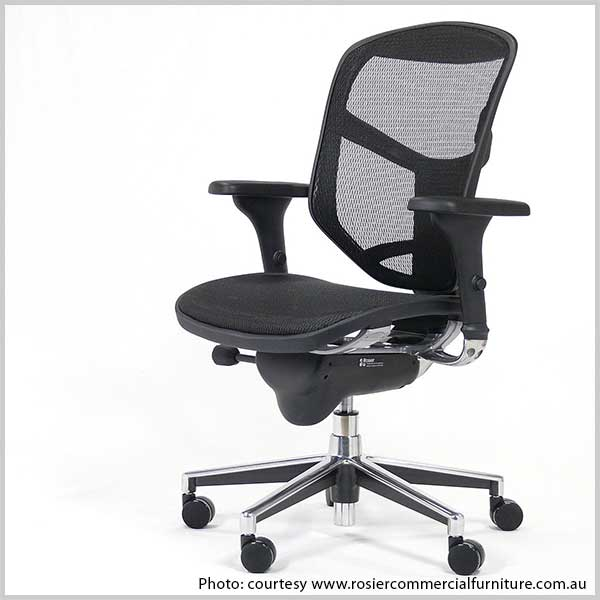 chair for office use pickup truck tailgate 7 tips to choose the perfect home homeonline mesh