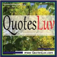 QuotesLuv Website Logo Design 3A. Nature Background. Medium Image Size:200x200px