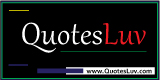 QuotesLuv Branding Logo Design 6A. Rectangular Format. Small Image Size:160x80px