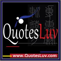 QuotesLuv Website Logo Design 4A. Black Theme. Medium Image Size:200x200 px