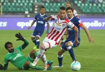 Robbie Keane, Hitesh Sharma score in ATK vs Chennai City FC live score. Read all the updates to get the India Super Cup 2018 live scores aka Hero Super Cup 2018 live score, ATK vs Chennai City FC live score, ATK vs CCFC match result, highlights and more.