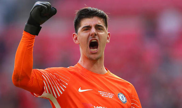 Real Madrid agree 35million deal to sign Chelsea goalkeeper Thibaut Courtois