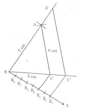Constructions : RS Aggarwal Solutions for Class 10th Maths