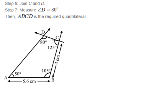 RS Aggarwal Solutions for Class 8th Maths :Construction of