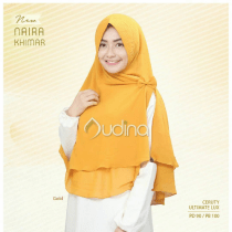 khimar warna gold