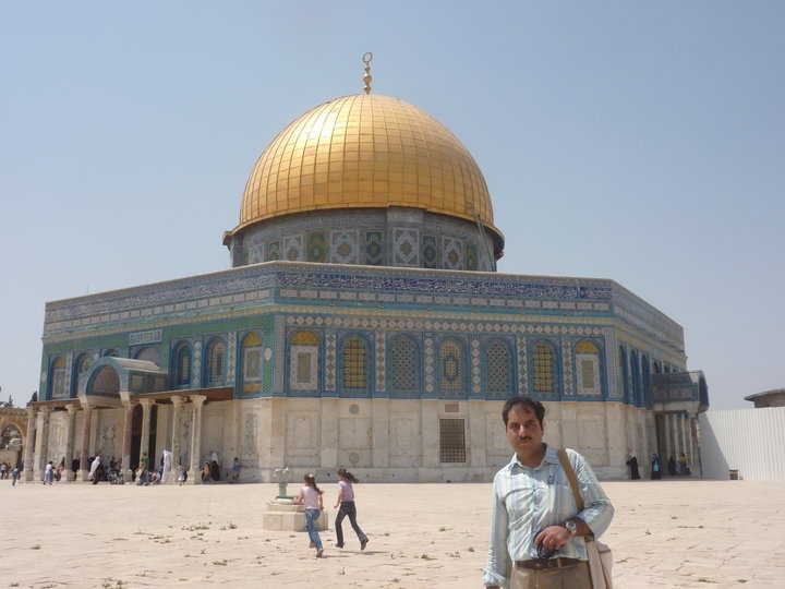 Jerusalum_dome of rock_Iftikhar