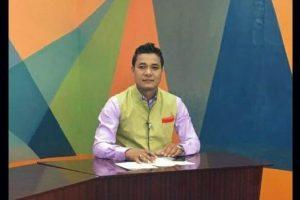 منی پور کے صحافی کشورچندر وانگ کھیم (فوٹو بشکریہ: فیس بک(