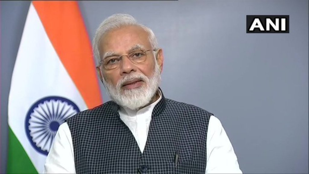 ملک کو خطاب کرتے وزیر اعظم نریندر مودی (فوٹو بہ شکریہ: اے این آئی)