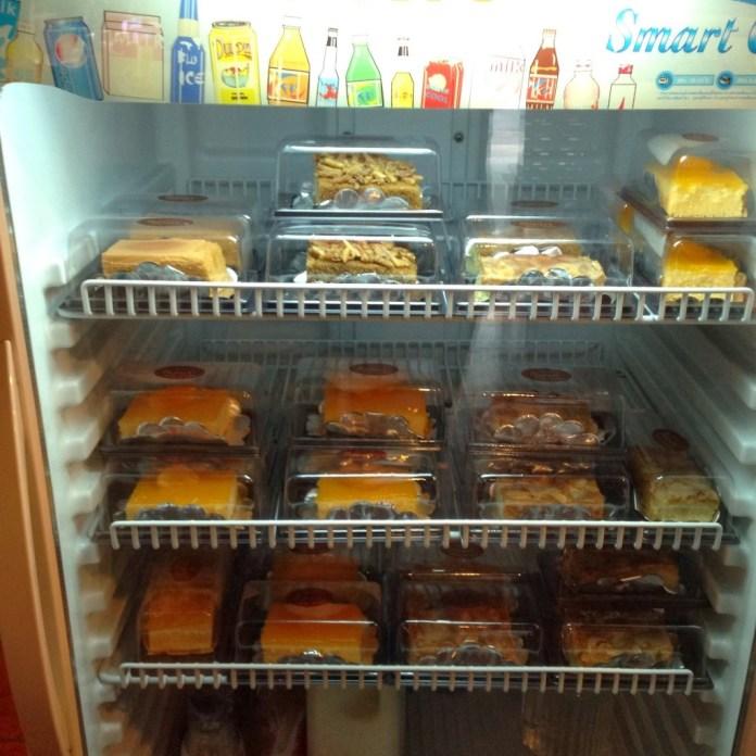 ขนมเค้กในร้าน