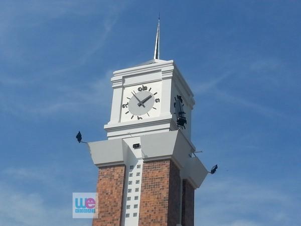 หอนาฬิกาหน้าศาลากลางจังหวัดนครราชสีมา