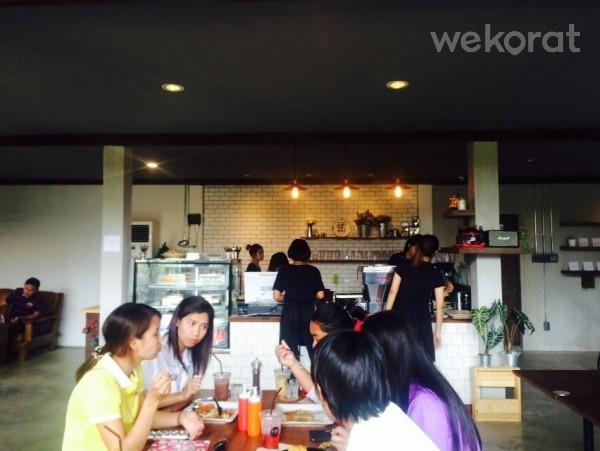 ภายในร้าน Fika cafe
