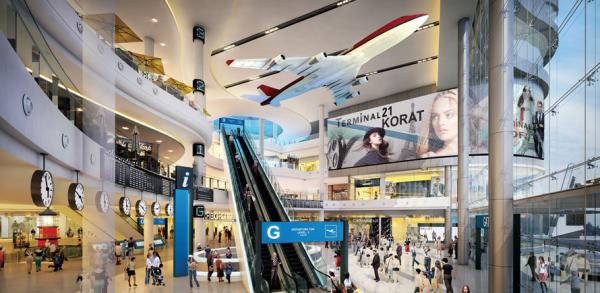 Terminal 21 Korat จะมาพร้อมกับบันไดเลื่อนยาวที่สุดในประเทศไทย