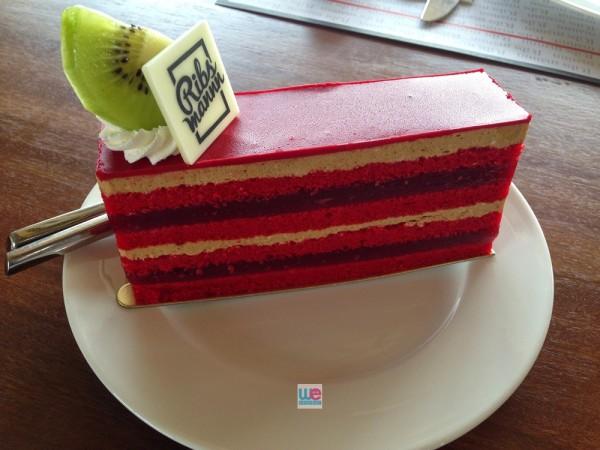 เค้ก Berry Opera