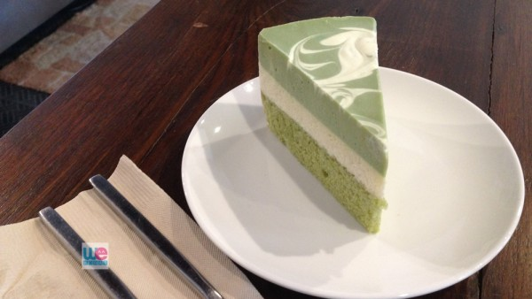 เค้ก Green Tea White Choc