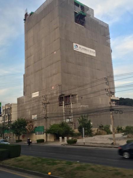 ภาพโครงการก่อสร้างโรงแรมแคนทารี โคราช (เครดิต)