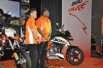 KTM Duke R (2011) Launch - 078