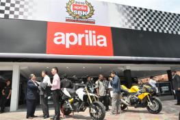 Aprilia Showroom Opening At Naza - 01