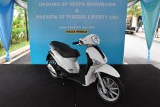 Piaggio Liberty 150cc Launch at New Vespa Showroom - 62