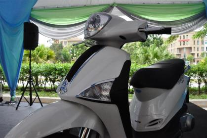 Piaggio Liberty 150cc Launch at New Vespa Showroom - 84