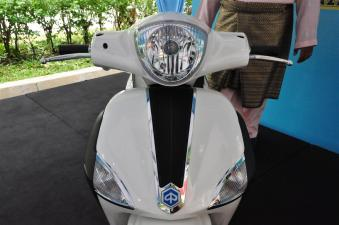 Piaggio Liberty 150cc Launch at New Vespa Showroom - 87