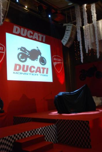 Ducati Monster 795 Launch - 02