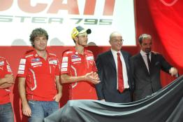 Ducati Monster 795 Launch - 058 Valentino Rossi