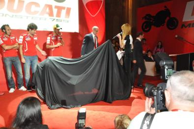 Ducati Monster 795 Launch - 061 Valentino Rossi