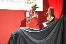 Ducati Monster 795 Launch - 066 Valentino Rossi & Hannah Tan
