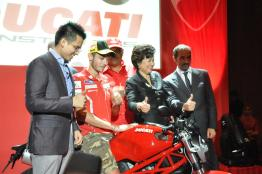 Ducati Monster 795 Launch - 069 Valentino Rossi