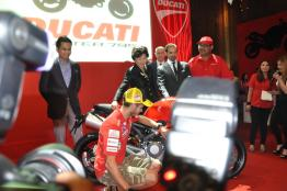 Ducati Monster 795 Launch - 084 Valentino Rossi