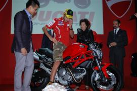 Ducati Monster 795 Launch - 12 - Valentino Rossi