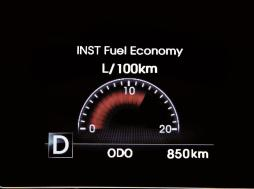 KIA Optima K5 - 155 Fuel Economy Cluster