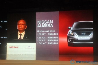 2012 Nissan Almera Launch 028