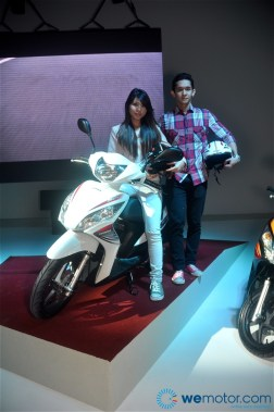 Boon Siew Honda Launch Spacy and PCX 027