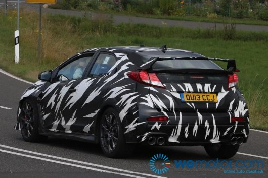 2015 Honda Civic Type R Spy Shots 006