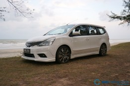 2014 Nissan Grand Livina Tuned By Impul test Drive 028