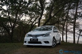 2014 Nissan Grand Livina Tuned By Impul test Drive 034