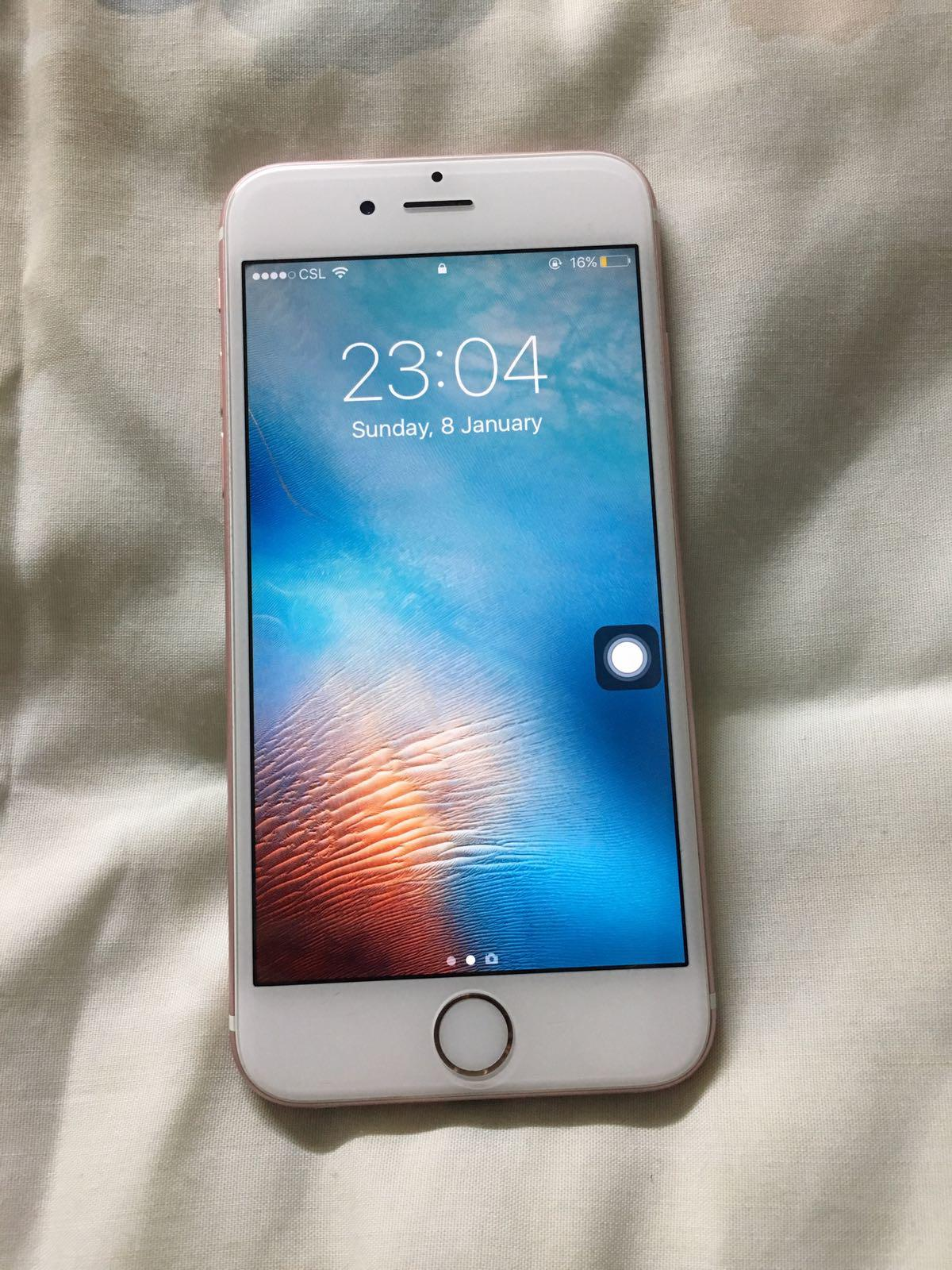 IPhone 6S 64gb Rose Gold WITH WARRANTY   Secondhand.hk