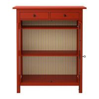 Hemnes Linen Cabinet Red | Secondhand.my