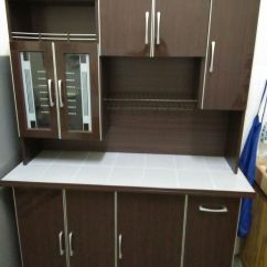 Dining Table And Chair Sets Medical Office Waiting Room Chairs Portable Kitchen Cabinet | Secondhand.my