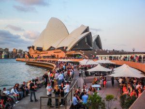 Opera House and Opera Bar Sydney