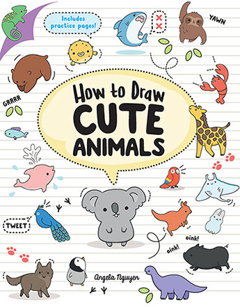 Cute Animal Pictures To Draw : animal, pictures, Animals, Angela, Nguyen, 9781760523787, Murdoch, Books