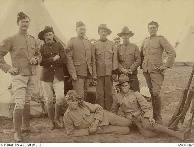 Langwarrin Camp 5th Contingent Victoria Mounted Rifles