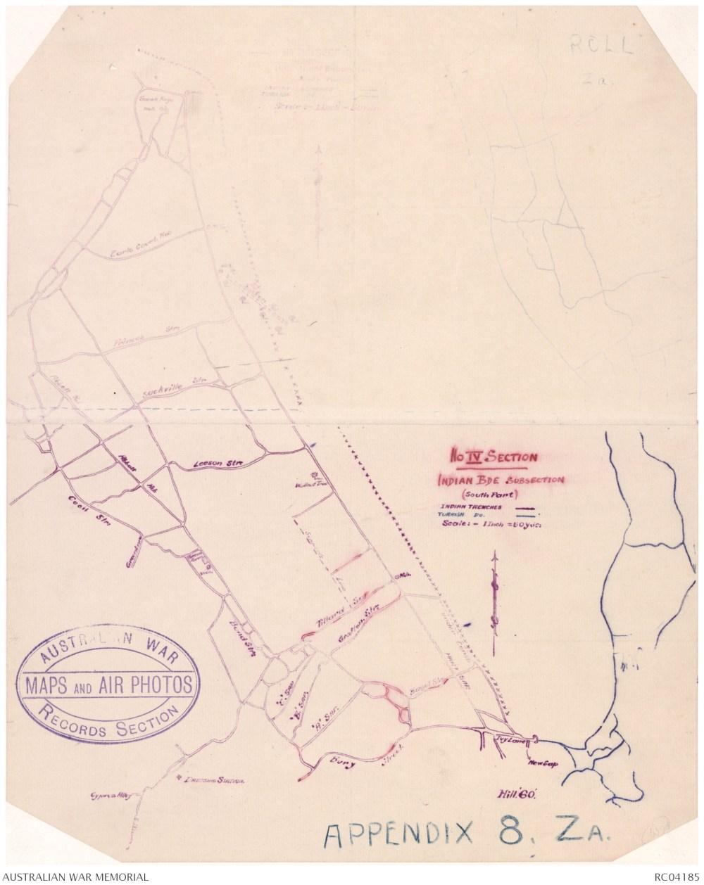 medium resolution of gallipoli trench diagram rc04185 download