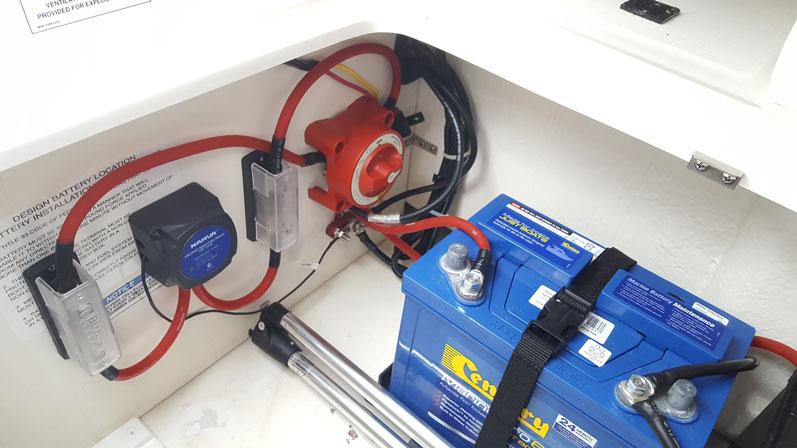 Marine Battery Isolator Wiring Diagram