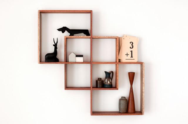 3 Box Shadow Box Shelf Meranti By Senkki Furniture