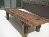 Rustic Wharf Table by Zac Pearton | Handkrafted