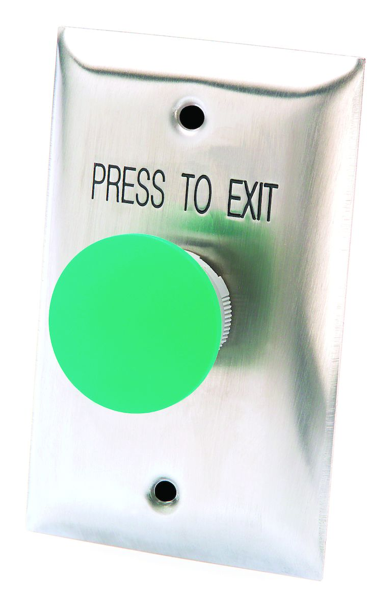 hight resolution of hills mushroom request to exit button green