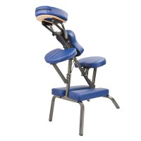 Portable Vinyl Tattoo & Massage Therapy Chair Blue | Buy ...