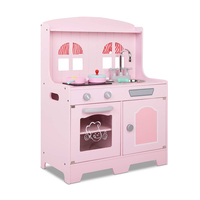 childrens kitchens heavy duty kitchen shears play a toy for the little chef that loves cooking keezi kids wooden set pink silver